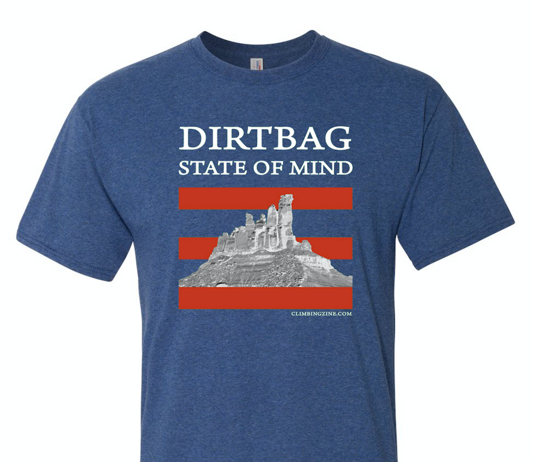 Dirtbag State of Mind t-shirt - Blue