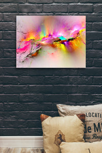 Whats On Your Wall Canvas Art Print