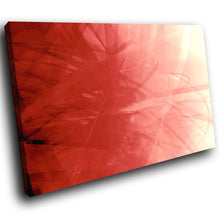 AB088 Framed Canvas Print Colourful Modern Abstract Wall Art - Red White Bedroom-Canvas Print-WhatsOnYourWall