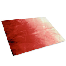 AB088 Framed Canvas Print Colourful Modern Abstract Wall Art -  Red White Bedroom - WhatsOnYourWall