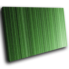 AB1548A Framed Canvas Print Colourful Modern Abstract Wall Art - green stripes-Canvas Print-WhatsOnYourWall