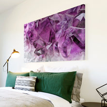 AB1688A Framed Canvas Print Colourful Modern Abstract Wall Art - purple cloud-Canvas Print-WhatsOnYourWall