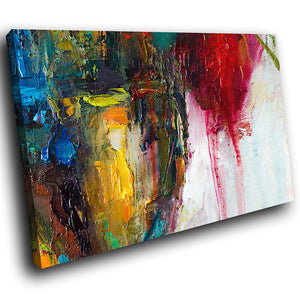 AB058 Black White Wine Cool Modern Abstract Framed Wall Art Large Picture Prints