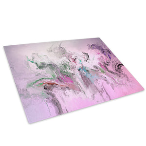 Pink Blue Black Red Glass Chopping Board Kitchen Worktop Saver Protector - AB1718-Abstract Chopping Board-WhatsOnYourWall