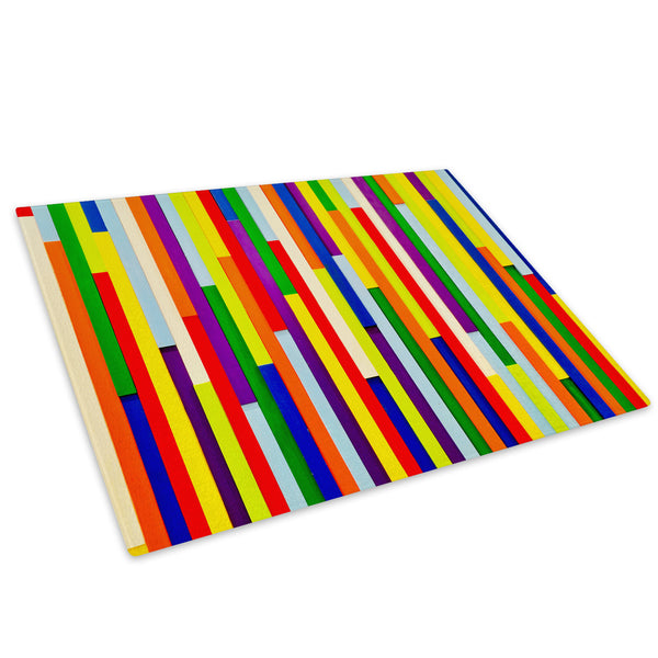 Colourful Cool Funky Glass Chopping Board Kitchen Worktop Saver Protector - AB326-Abstract Chopping Board-WhatsOnYourWall