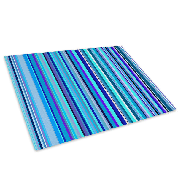 Blue Purple Black Glass Chopping Board Kitchen Worktop Saver Protector - AB380-Abstract Chopping Board-WhatsOnYourWall