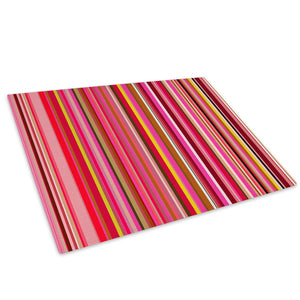 Colourful Cool Funky Glass Chopping Board Kitchen Worktop Saver Protector - AB390-Abstract Chopping Board-WhatsOnYourWall