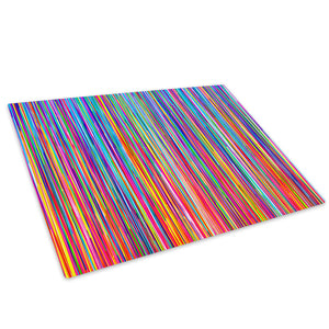 Colourful Cool Funky Glass Chopping Board Kitchen Worktop Saver Protector - AB393-Abstract Chopping Board-WhatsOnYourWall