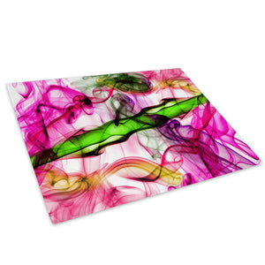 Retro Colourful Cool Glass Chopping Board Kitchen Worktop Saver Protector - AB405-Abstract Chopping Board-WhatsOnYourWall