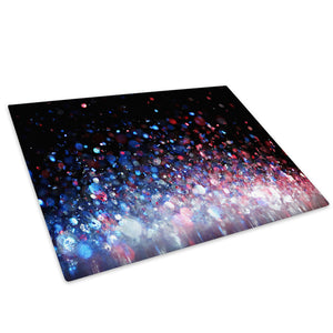 Blue Red Black Cool Glass Chopping Board Kitchen Worktop Saver Protector - AB486-Abstract Chopping Board-WhatsOnYourWall