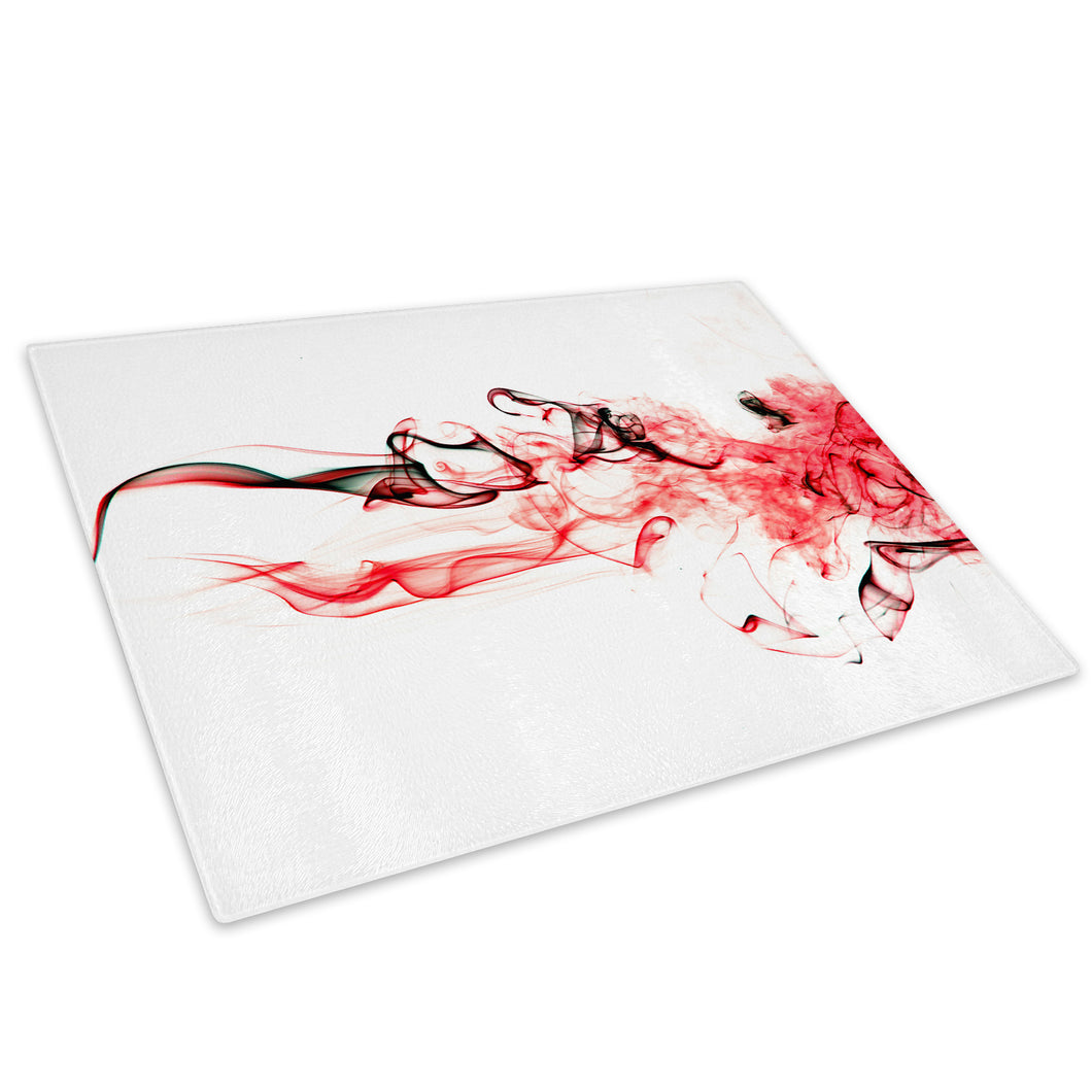 Red White Black Cool Glass Chopping Board Kitchen Worktop Saver Protector - AB543-Abstract Chopping Board-WhatsOnYourWall
