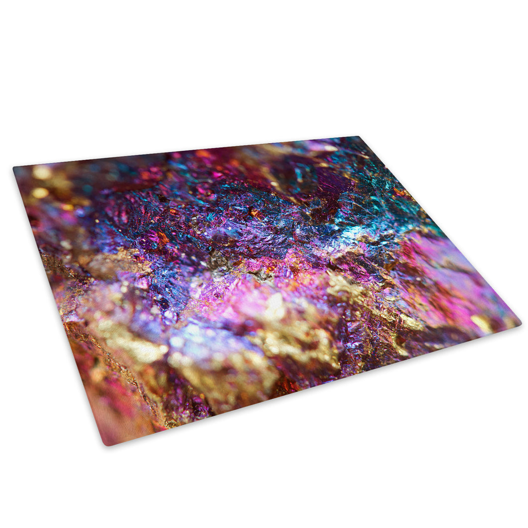Colourful Cool Funky Glass Chopping Board Kitchen Worktop Saver Protector - AB544-Abstract Chopping Board-WhatsOnYourWall