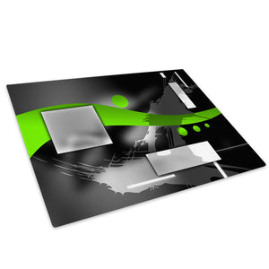Green Black Grey White Glass Chopping Board Kitchen Worktop Saver Protector - AB586-Abstract Chopping Board-WhatsOnYourWall