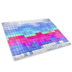 Colourful Cool Funky Glass Chopping Board Kitchen Worktop Saver Protector - AB693-Abstract Chopping Board-WhatsOnYourWall