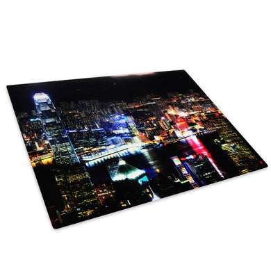 Colourful City Cool Funky Glass Chopping Board Kitchen Worktop Saver Protector - C048-Scenic Chopping Board-WhatsOnYourWall