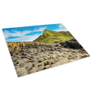 Giants Causeway Ireland Glass Chopping Board Kitchen Worktop Saver Protector - C990-Scenic Chopping Board-WhatsOnYourWall