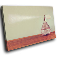 E125 Vintage Retro Perfume Bottle Modern Canvas Wall Art Large Picture Prints-Canvas Print-WhatsOnYourWall
