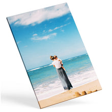 Portrait custom photo canvas