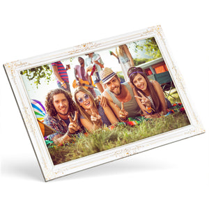 Custom Photo Canvas - Gold frame effect