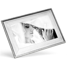 Custom Photo Canvas - Rustic Silver Frame Effect