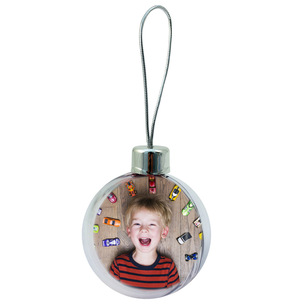 Personalised photo bauble (NEW)