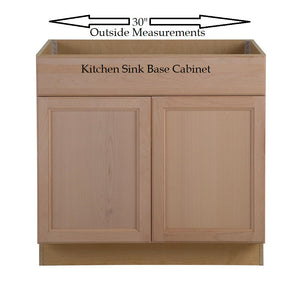 "FITS 30"" KITCHEN SINK BASE CABINET"