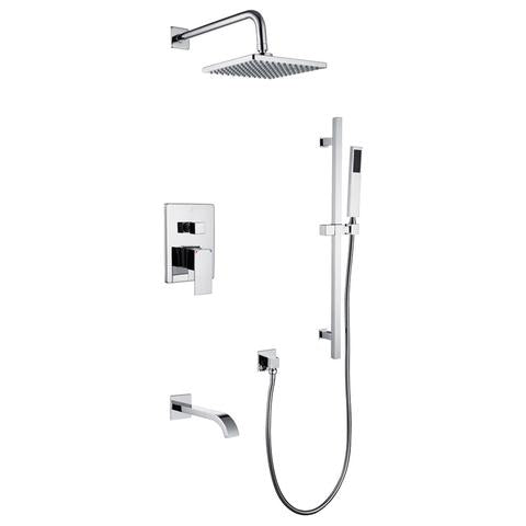 SHOWER & TUB FAUCETS