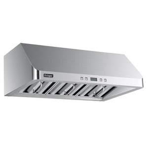 "ALTO - H - Designer  Under Cabinet Stainless Steel Range Hood - Available for 30"" &  36"" Opening"