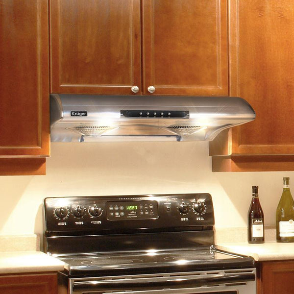 "ALTO - S - Under Cabinet Stainless Steel Range Hood - Only Available for 30"" Opening"