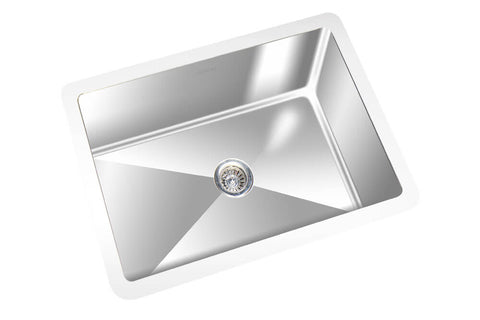 "GEMINI SINK BRRC1812- Commercial Under Mount Sink  - 20"" x 14"" x 6"" - Free Shipping"