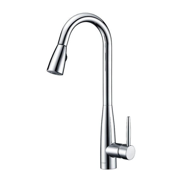 DEKLAN - Pull Down Kitchen Faucet - Polished Chrome