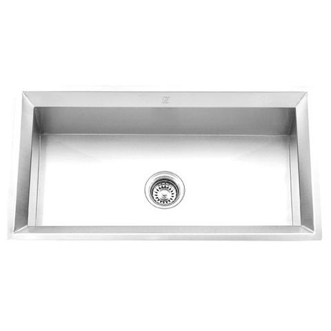 "FINA - P - Single Bowl Beveled Rim Designer Sink - 33"" x 18"" x 9 3/4"""
