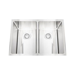 "HANA - EXR - Double Bowl Square Sink - 29"" x 20"" x 10"""
