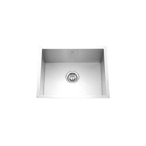 "HANA - Mini - Single Bowl Designer Square Sink - 24"" x 18"" x 9"""
