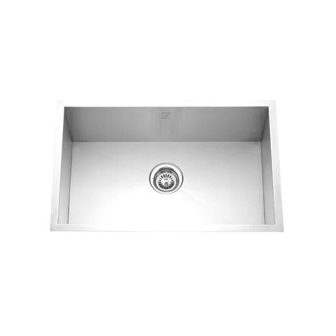 "HANA - PD - Single Bowl Square Kitchen Sink - 30"" x 18"" x 10"""