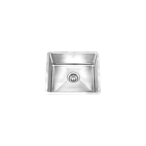 "HANA - TR - Single Bowl Square Designer Bar Sink - Radius Corners - 18"" x 14"" x 9"""
