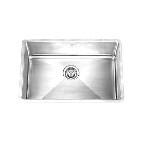 "HANA - PMR - Single Bowl Square Sink - 27"" x 18"" x 9"""