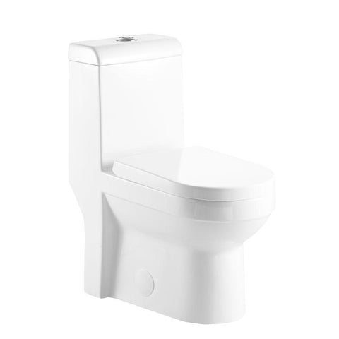 JODA EcoMax -  Designer Duel Flush One-Piece Toilet