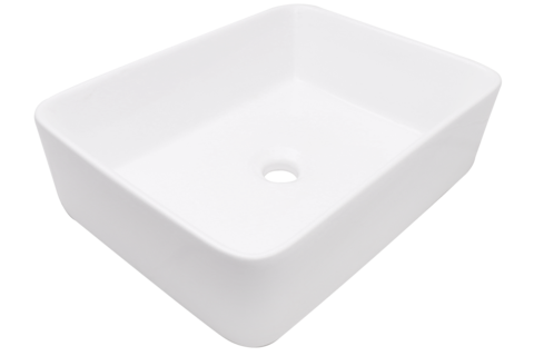 "KASU - DF - Fireclay Ceramic Rectangle Vessel Sink - 18 1/4"" x 14"" x 4 5/8"""