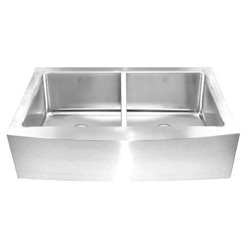 KESHI - ER -Designer 16 Gauge Farmhouse Kitchen Sink
