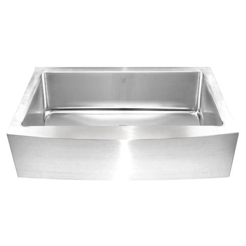 KESHI - PR - Designer Single Bowl 16 Gauge Farmhouse Kitchen Sink