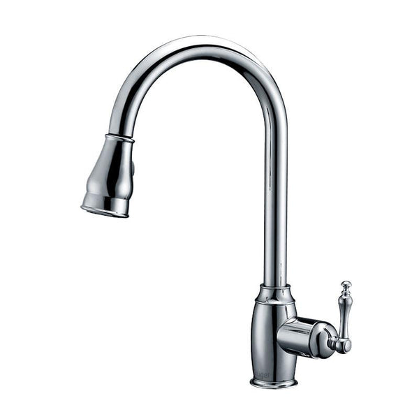 KOLTON - Designer Pull-Down Kitchen Faucet