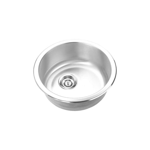 "TAHI - R - Round Under/Top Mount Bar Sink - 18"" x 6"""