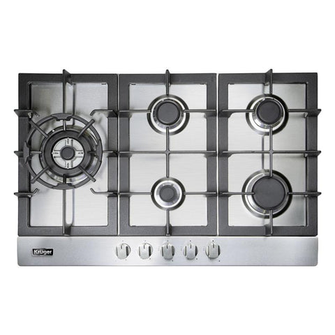 VIGO - Stainless Steel with Cast Iron Grates Gas CookTop