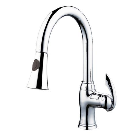 ALTERA - Designer Pull-Down Kitchen Faucet - Polished Chrome