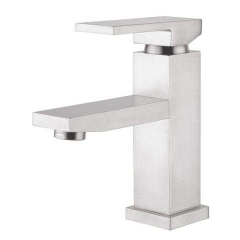 BELLO - Designer  Square Vanity Faucet - Brushed Nickel
