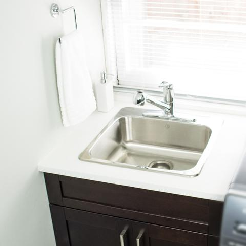 SKYLINE - Pull Out Laundry Room/Kitchen Faucet - Polished Chrome