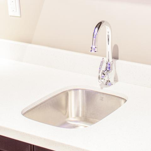 ALTA - Sleek Designer Bar Faucet - Polished Chrome