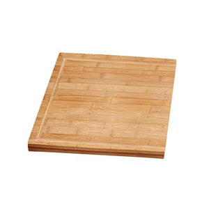 SOLID MAPLE CUTTING BOARD - Seamlessly Fits into Selected Sinks