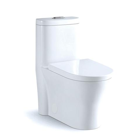 FISHER EcoMax -  Designer Duel Flush One-Piece Toilet